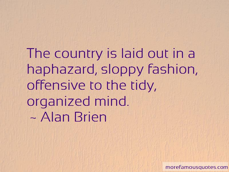 Alan Brien Quotes