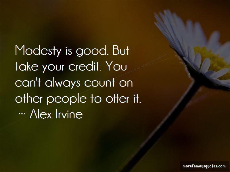 Alex Irvine Quotes Pictures 2