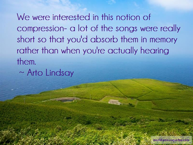 Arto Lindsay Quotes Pictures 4
