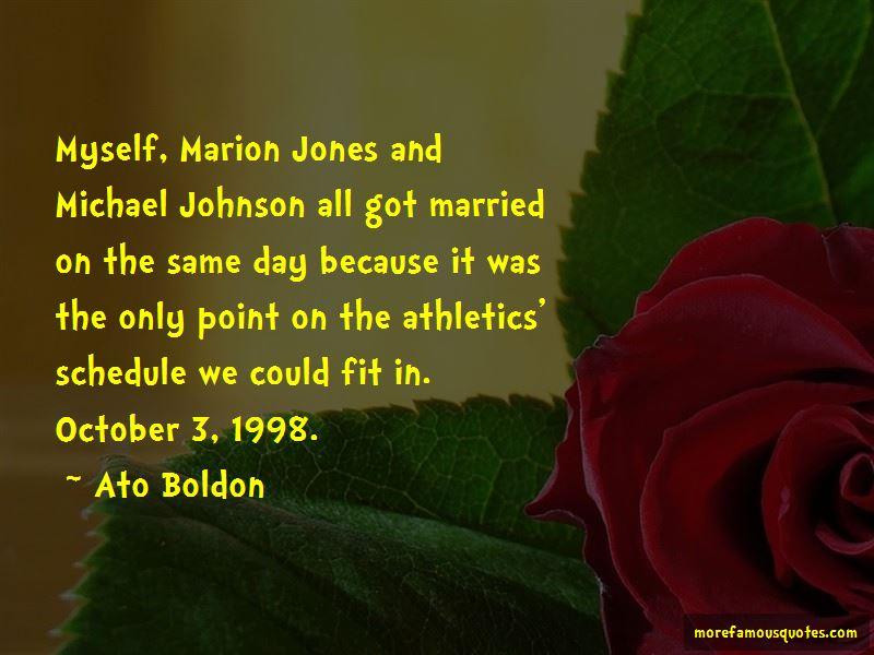 Ato Boldon Quotes Pictures 4