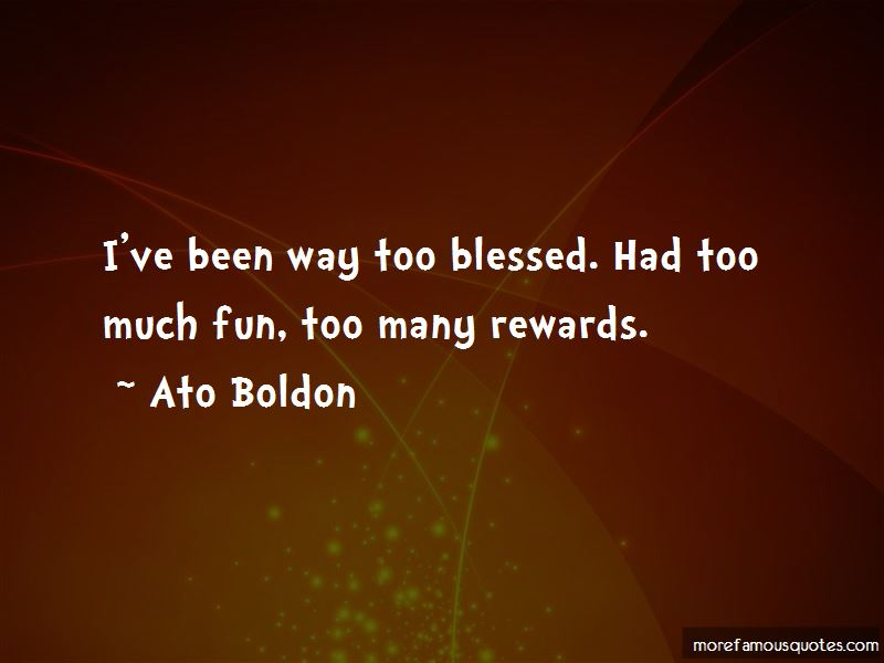 Ato Boldon Quotes