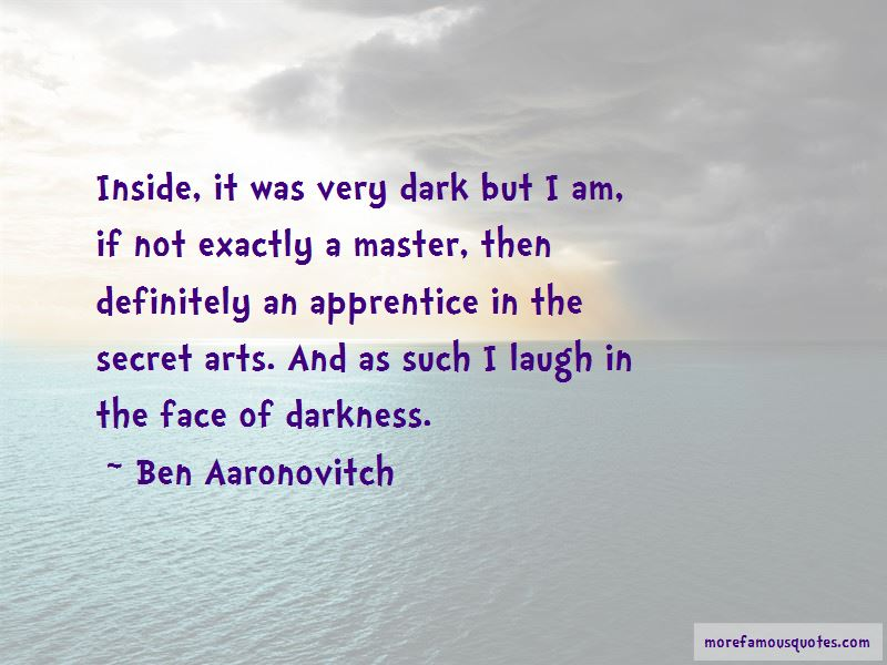 Ben Aaronovitch Quotes Pictures 2