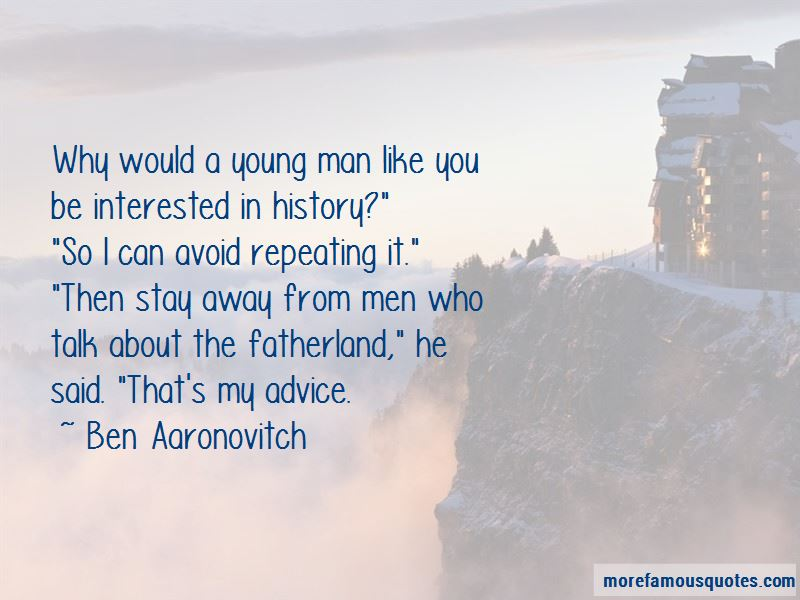 Ben Aaronovitch Quotes Pictures 3