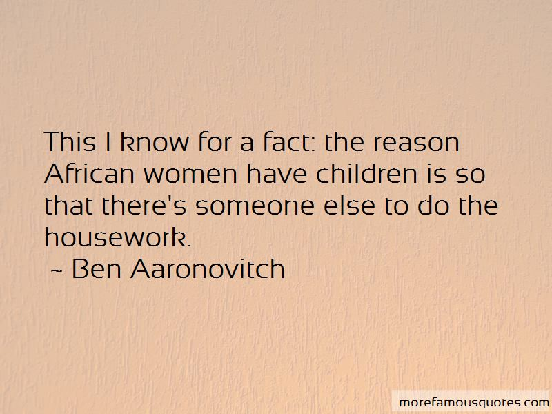 Ben Aaronovitch Quotes Pictures 4