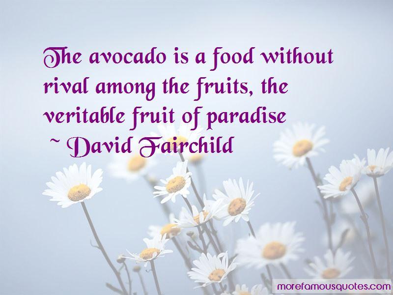 David Fairchild Quotes Pictures 4