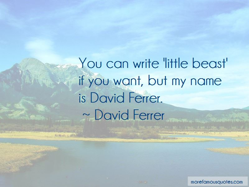 David Ferrer Quotes Pictures 2