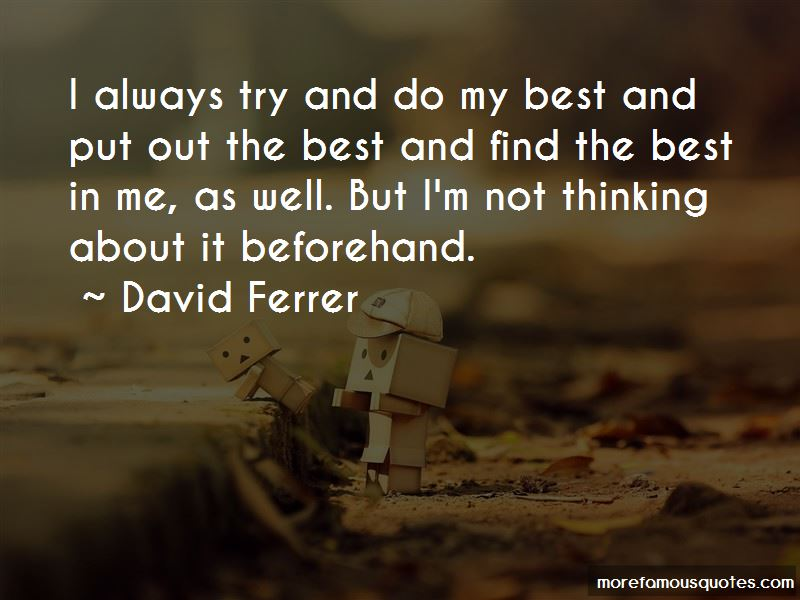David Ferrer Quotes