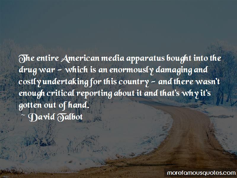 David Talbot Quotes