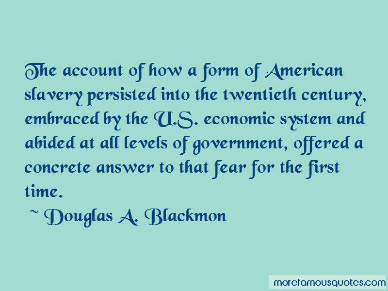 Douglas A. Blackmon Quotes Pictures 2