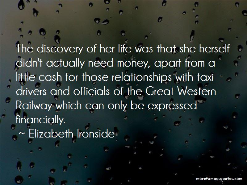 Elizabeth Ironside Quotes