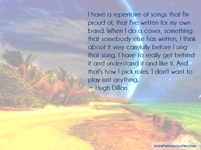 Hugh Dillon Quotes Pictures 3