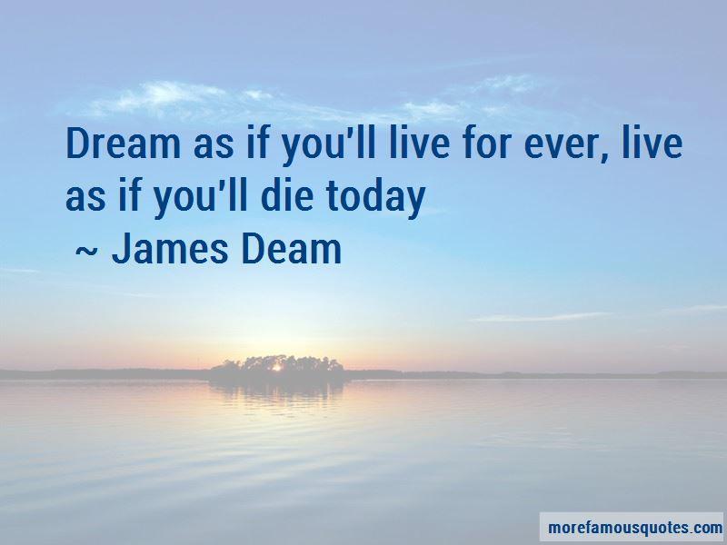 James Deam Quotes