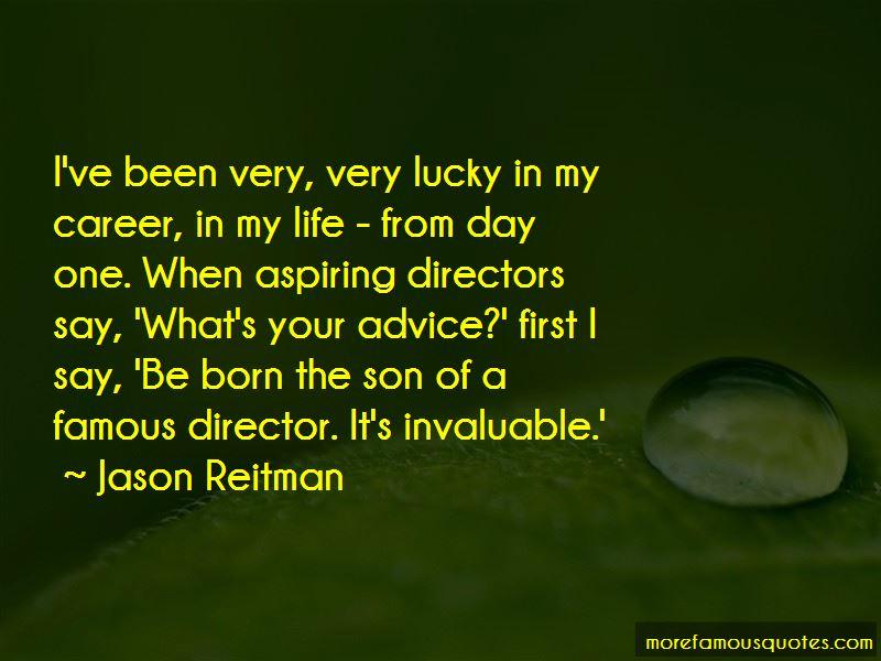 Jason Reitman Quotes