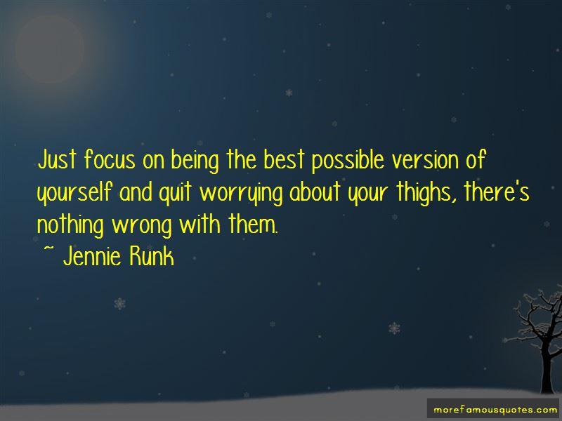 Jennie Runk Quotes