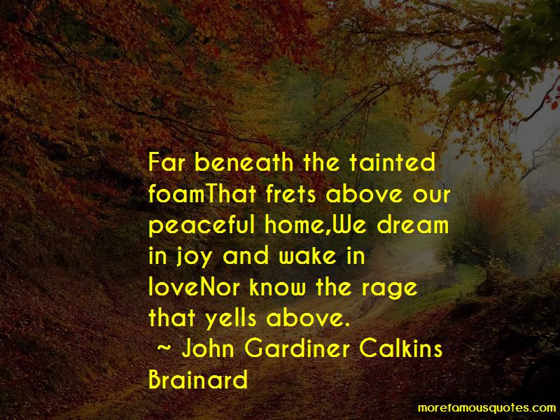 John Gardiner Calkins Brainard Quotes Pictures 2