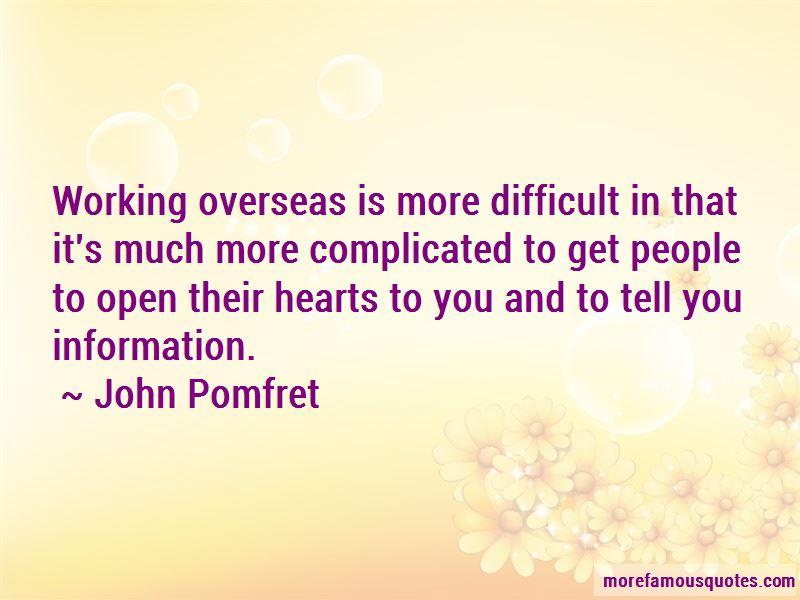 John Pomfret Quotes
