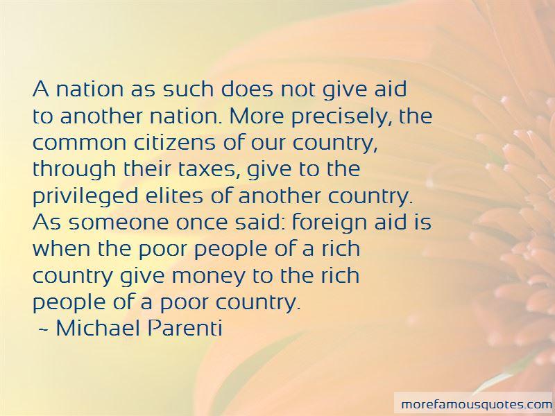 Michael Parenti Quotes