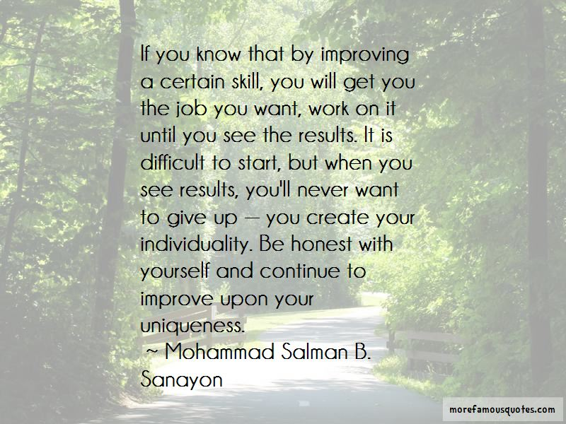 Mohammad Salman B. Sanayon Quotes Pictures 2