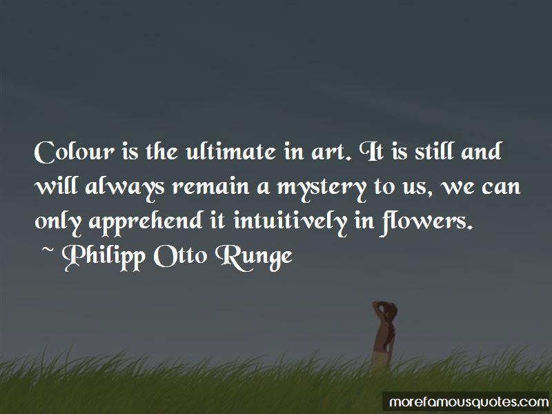 Philipp Otto Runge Quotes Pictures 3