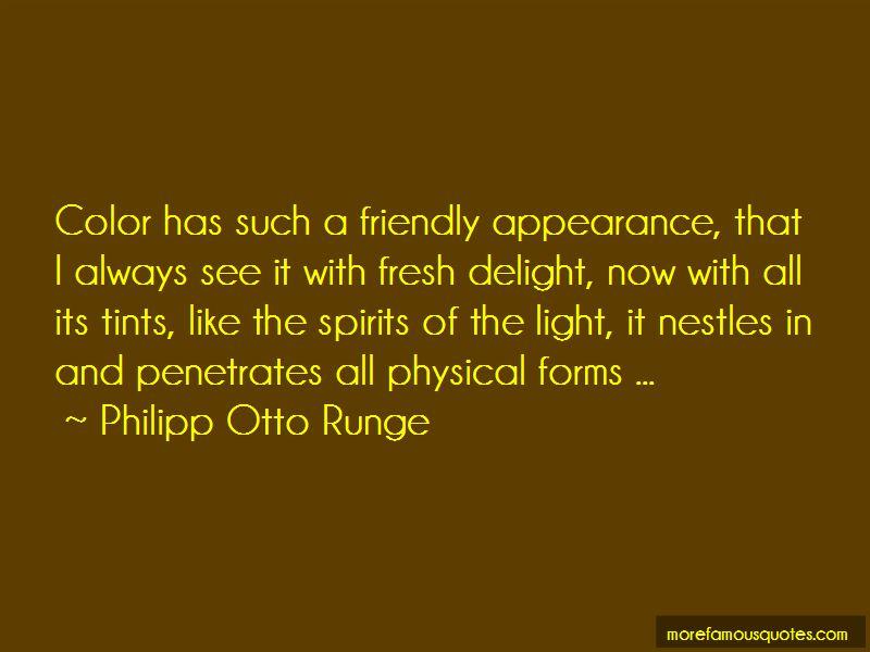 Philipp Otto Runge Quotes