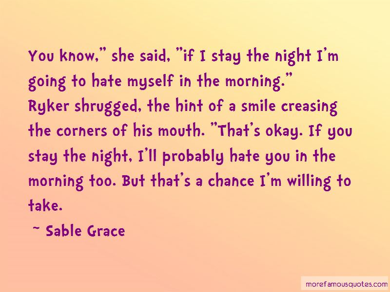Sable Grace Quotes Pictures 2