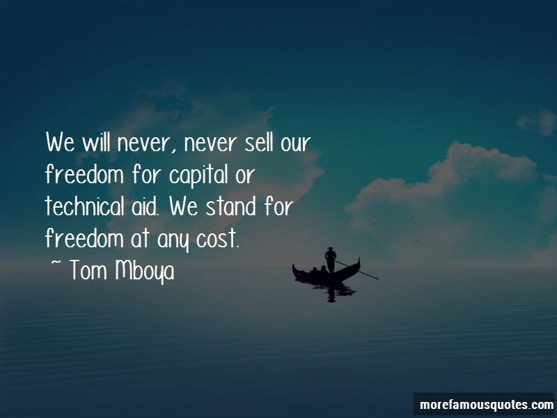 Tom Mboya Quotes Pictures 2