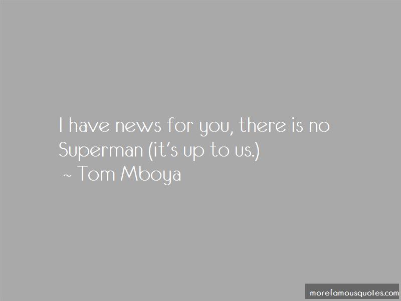 Tom Mboya Quotes