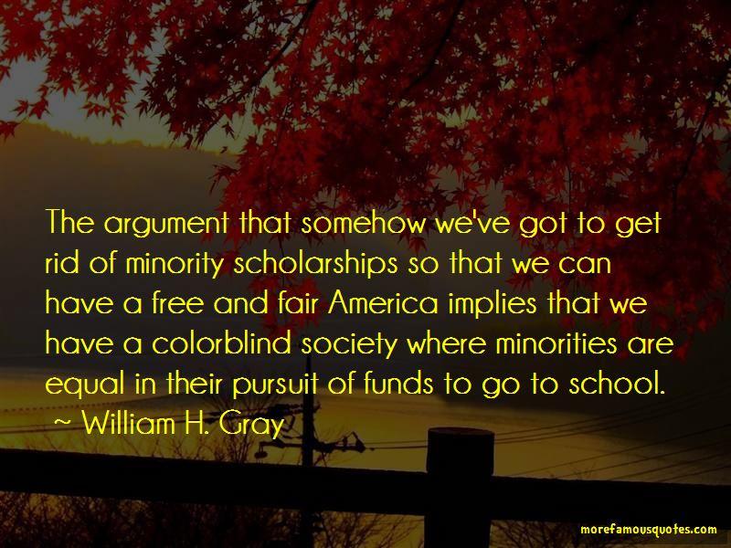 William H. Gray Quotes