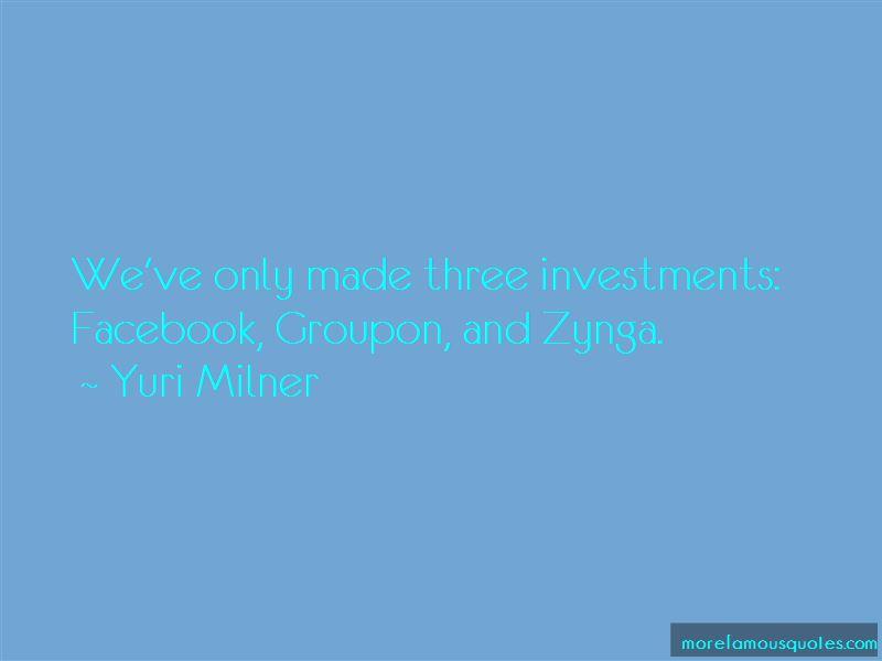 Yuri Milner Quotes Pictures 2