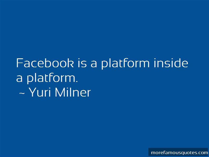 Yuri Milner Quotes Pictures 4
