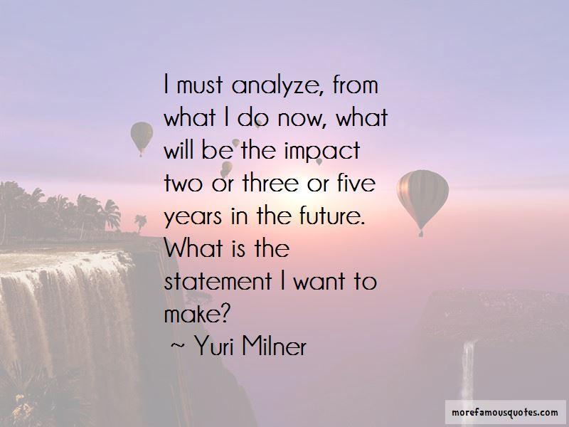 Yuri Milner Quotes
