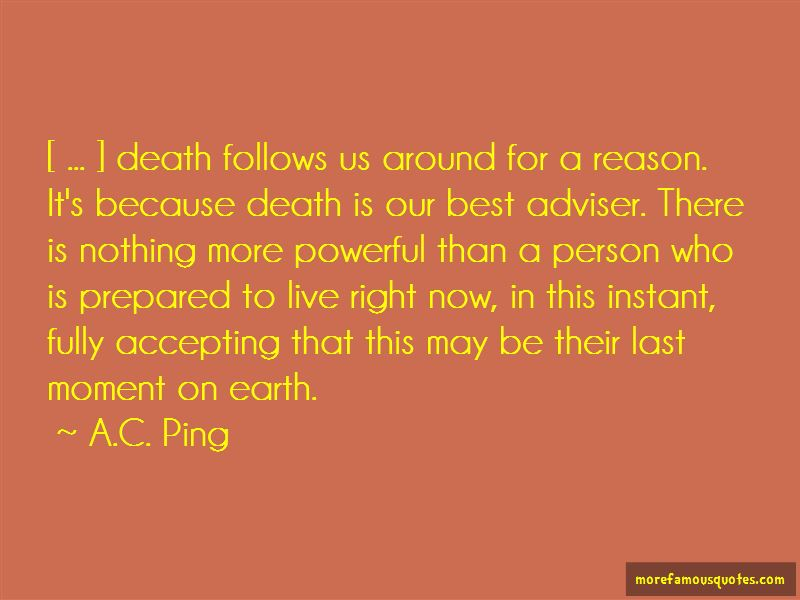 A.C. Ping Quotes Pictures 4