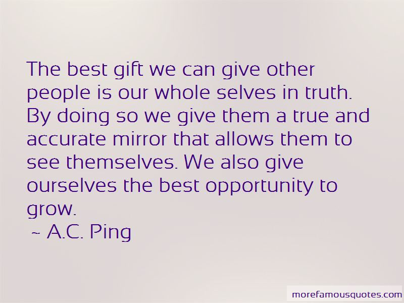 A.C. Ping Quotes