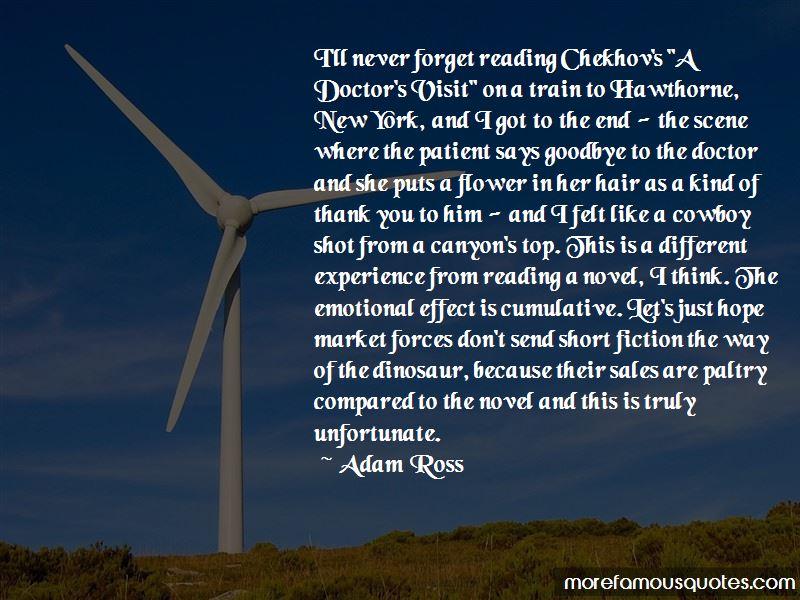 Adam Ross Quotes