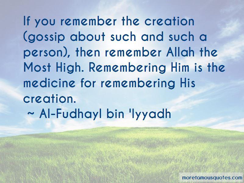 Al-Fudhayl Bin 'Iyyadh Quotes Pictures 2