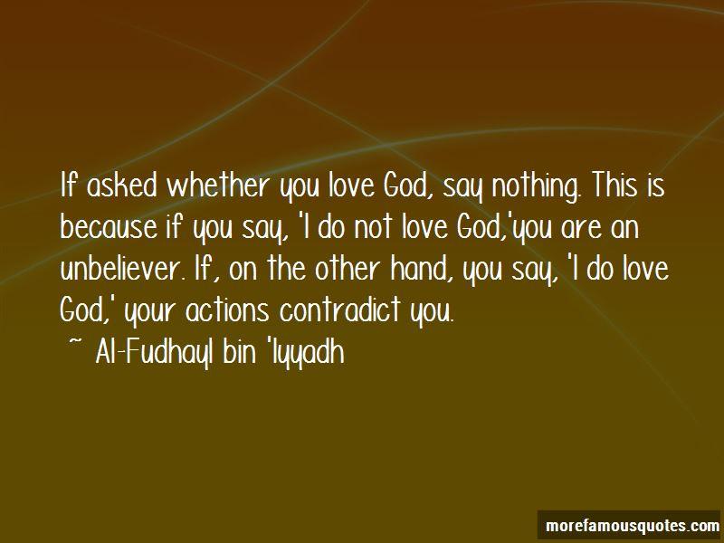 Al-Fudhayl Bin 'Iyyadh Quotes