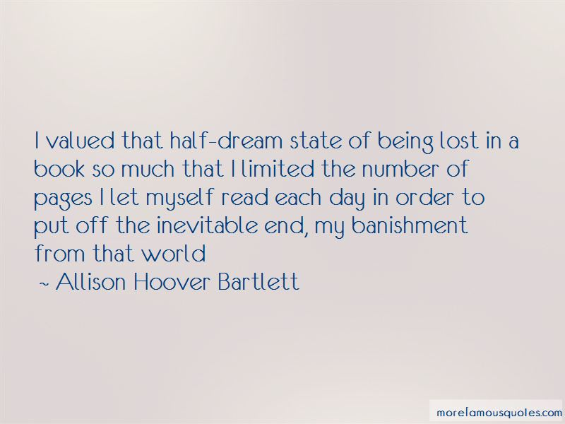 Allison Hoover Bartlett Quotes Pictures 2