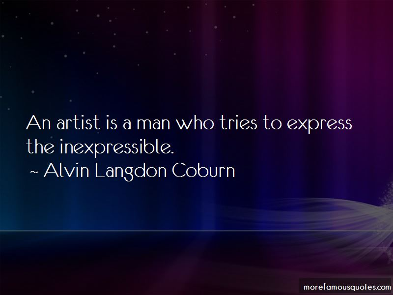 Alvin Langdon Coburn Quotes Pictures 3