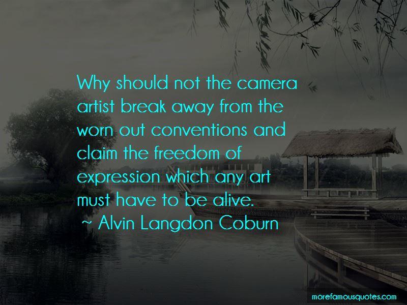Alvin Langdon Coburn Quotes