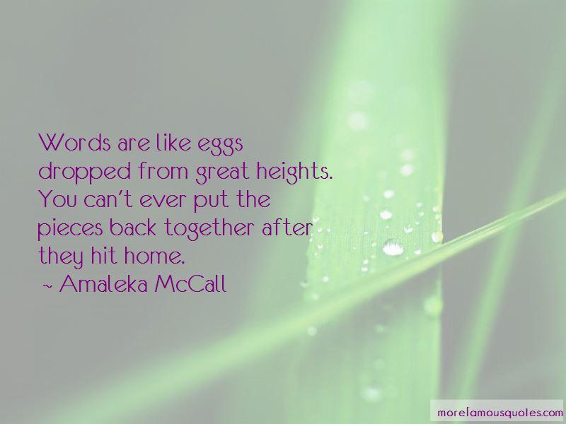 Amaleka McCall Quotes