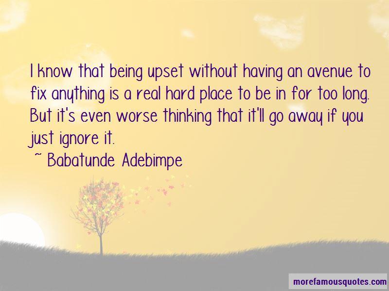 Babatunde Adebimpe Quotes