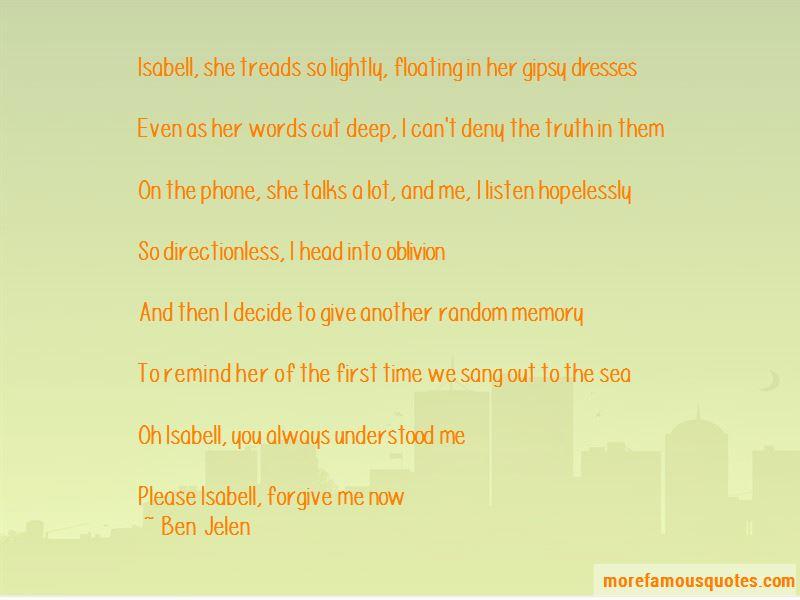 Ben Jelen Quotes