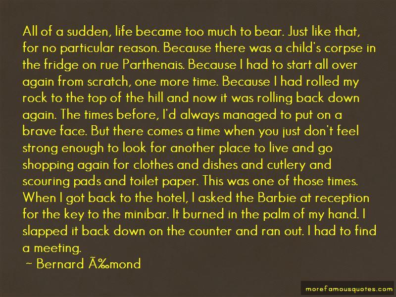 Bernard Émond Quotes