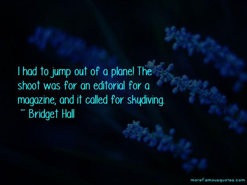 Bridget Hall Quotes Pictures 2