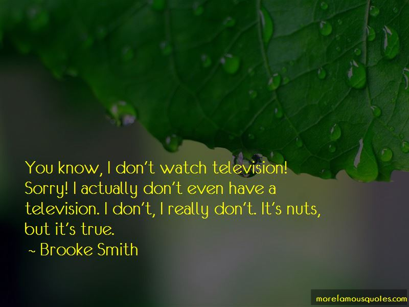 Brooke Smith Quotes Pictures 3