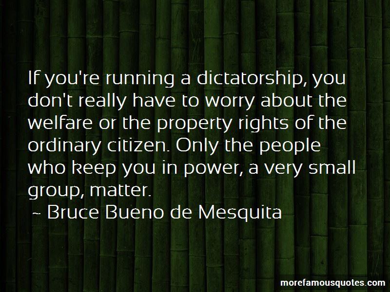Bruce Bueno De Mesquita Quotes Pictures 4