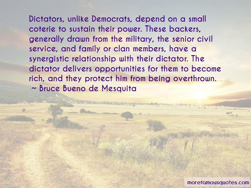 Bruce Bueno De Mesquita Quotes