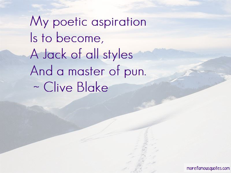 Clive Blake Quotes Pictures 2