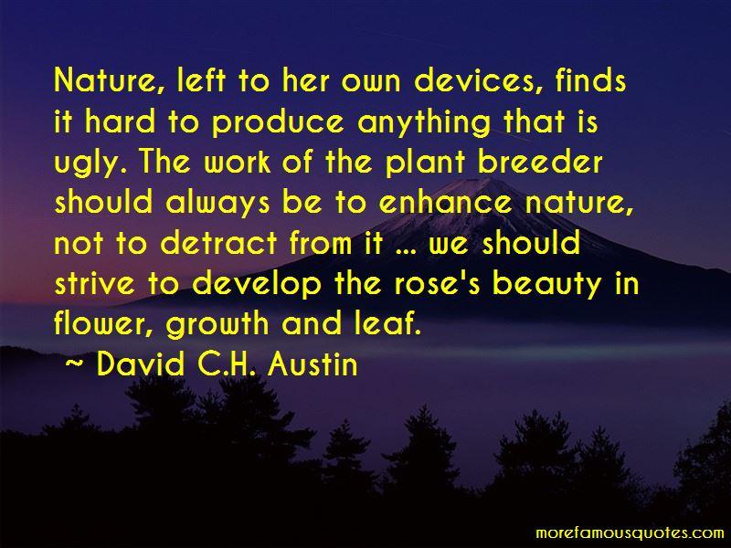 David C.H. Austin Quotes Pictures 2