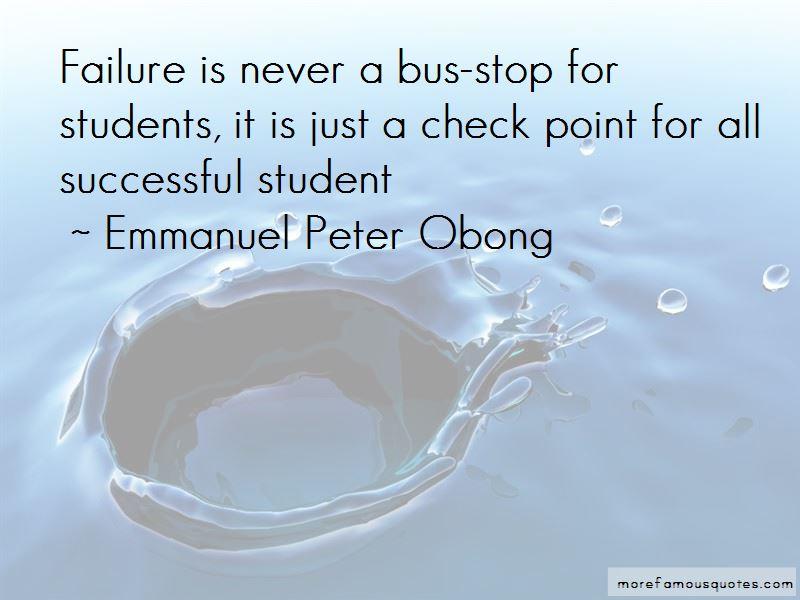 Emmanuel Peter Obong Quotes